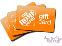 SHOP FOR FREE AT HOME DEPOT WITH $75 OFFER!!