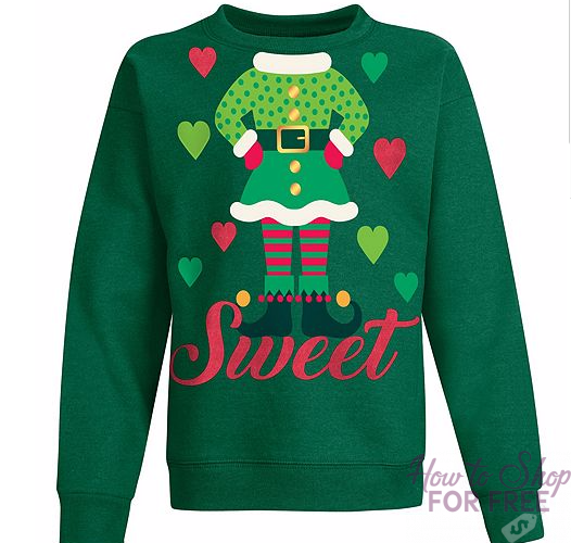 Ugly Christmas Sweaters ONLY $2.40 + CASH BACK!