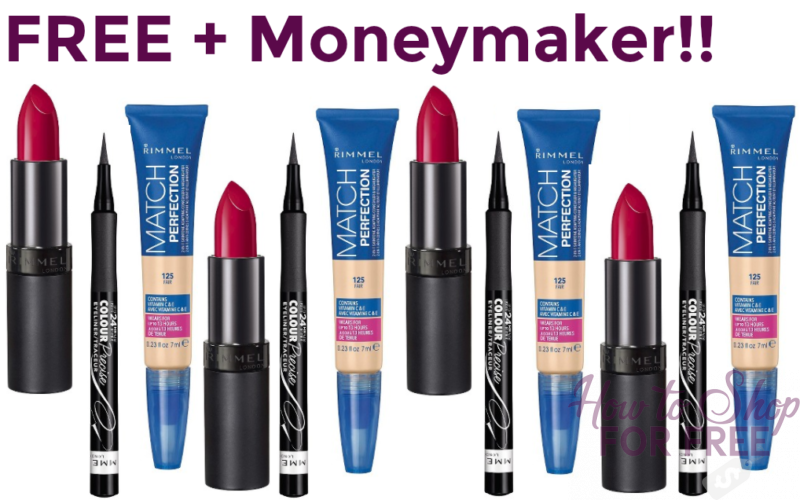 ** HOT HOT HOT **FREE + $12.63 MONEYMAKER on Makeup at Target!!