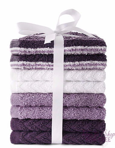 RUN RUN RUN! 8 Pack of Washcloths ONLY $2.59 shipped!