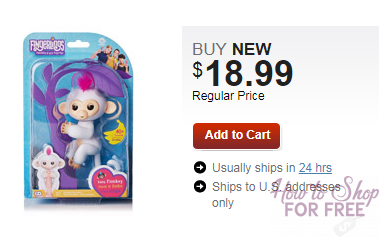 Fingerling Monkeys IN STOCK at Second Store!