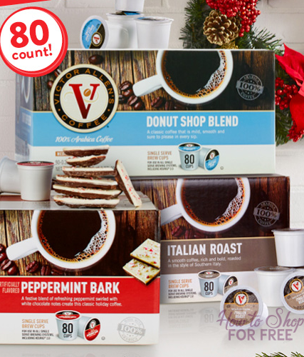 UPDATED!!!!!**HOT BUY** Victor Allen's Coffee, 80 ct ONLY $11.43!