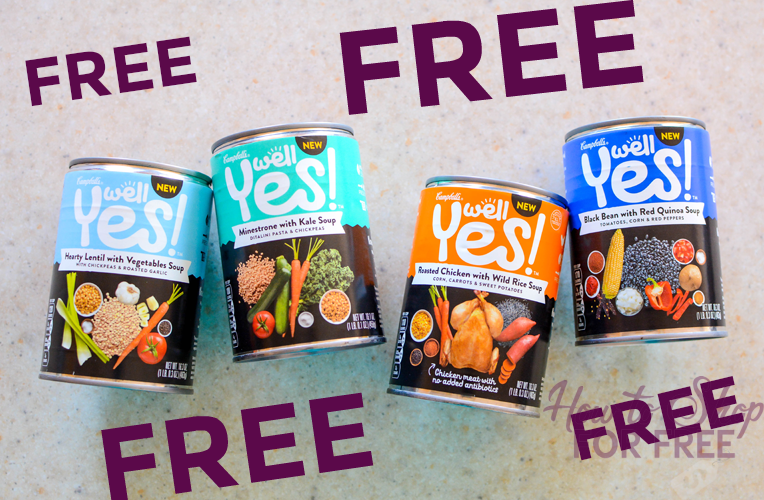FREE Well Yes! Soup at Stop & Shop!