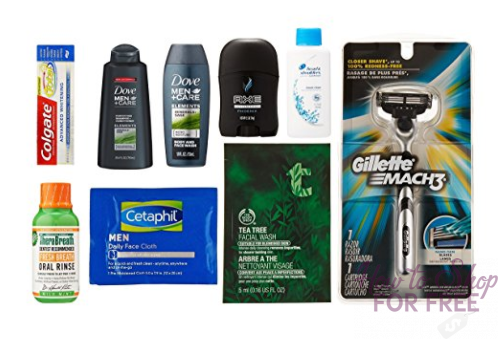 FREE Men's Grooming Sample Box! – RUN! RUN!
