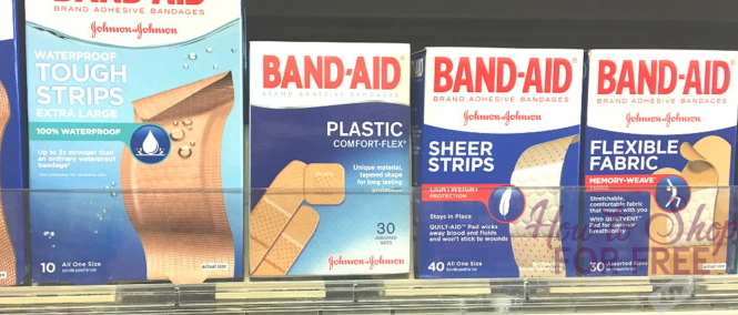 Band-Aid Bandages ONLY $.75!
