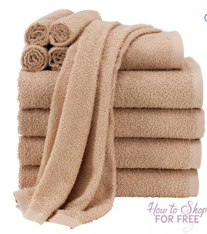 GO GO GO – Mainstays 10-Piece Towel Set ONLY $7.00!