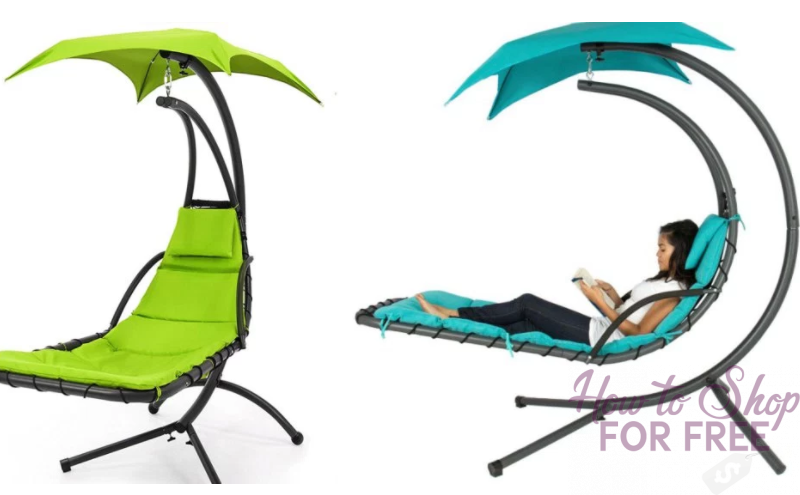 Hanging Chaise Porch Hammock $124.95  (Regularly $400) – WOAH