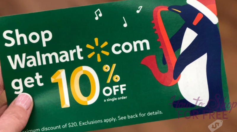 Walmart: Rare 10% Off Coupon! – GO GO GO
