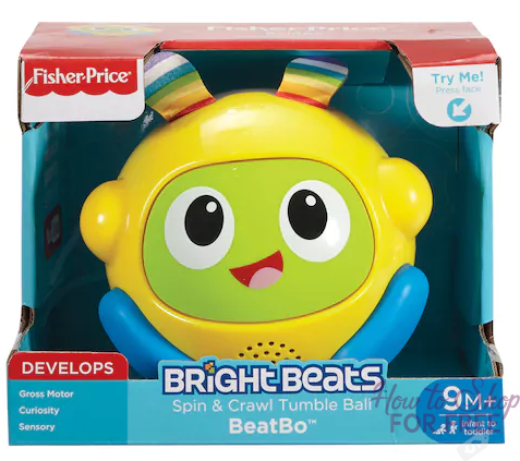 Fisher-Price Bright Beats Toys, ONLY $8.10 at Kohl's (Reg $22.99)!