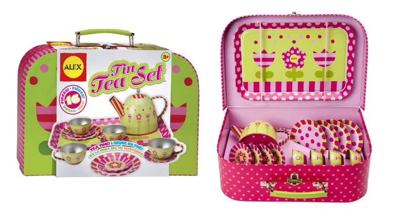 ALEX Toys Tin Tea Set ONLY $10.39 (Reg. $35)