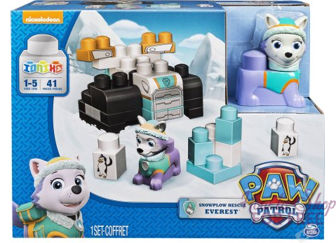 Paw Patrol Snowplow Rescue Everest Playset ONLY $7.51