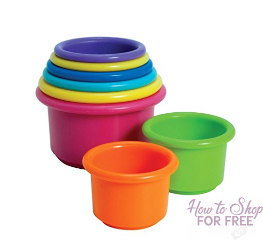 The First Years Stacking Up Cups – $3.99 (Reg. $8.99)