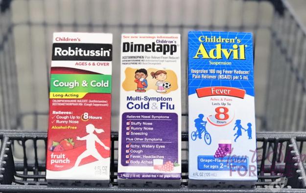 Robitussin, Dimetapp & Advil, as Low as $0.20 at Walgreens!