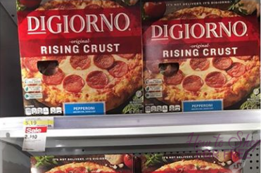 DIGIORNO PIZZA as Low as $1.98!!