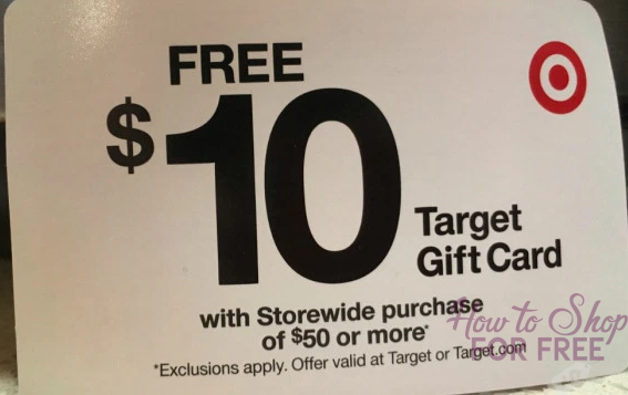 Heads up Target shoppers!