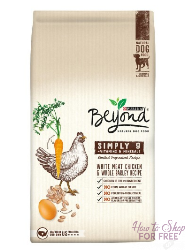 Purina Beyond Dog Food ONLY $.72!
