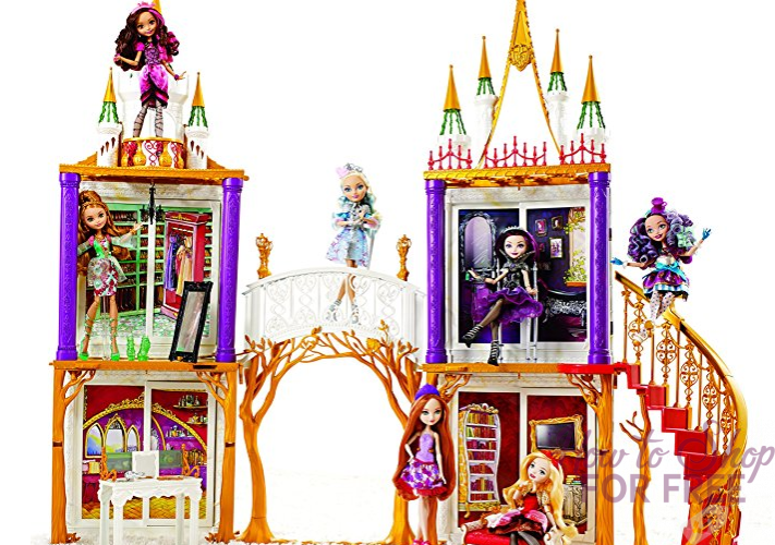 TODAY ONLY! Ever After High 2-in-1 Castle Playset ONLY $23.90 (Reg. $99.99) ~ WOW