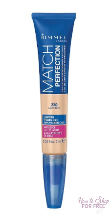 FREE + $1.51 Moneymaker – Rimmel Match Perfection Concealer
