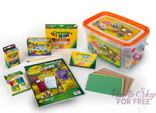 Crayola Jumbo Art Creativity Kit ONLY $11.63 (Reg. $34.99)