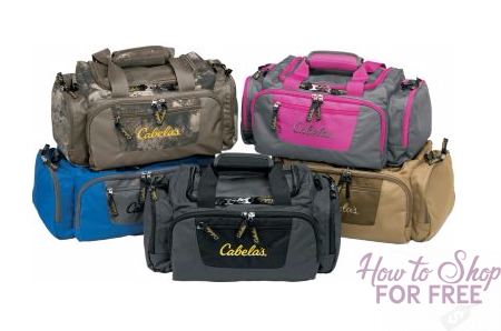 Cabelas Catch All Gear Bags ONLY $9.99 (Reg. $24.99)
