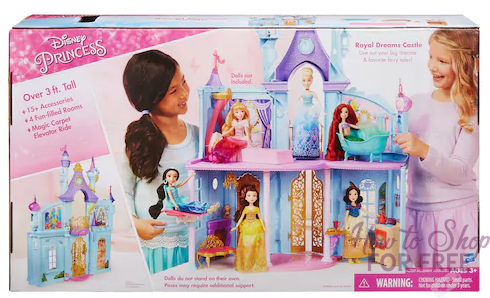 Disney Princess Royal Dreams Castle ONLY $23.27 (Reg. $60)