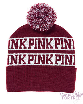 Victoria's Secret: PINK Bath Bomb & Beanie ONLY $3.95