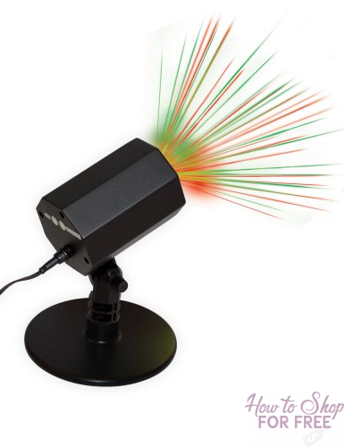Holiday Time Outdoor Laser Motion Light ONLY $10.99 (Reg. $24.88)
