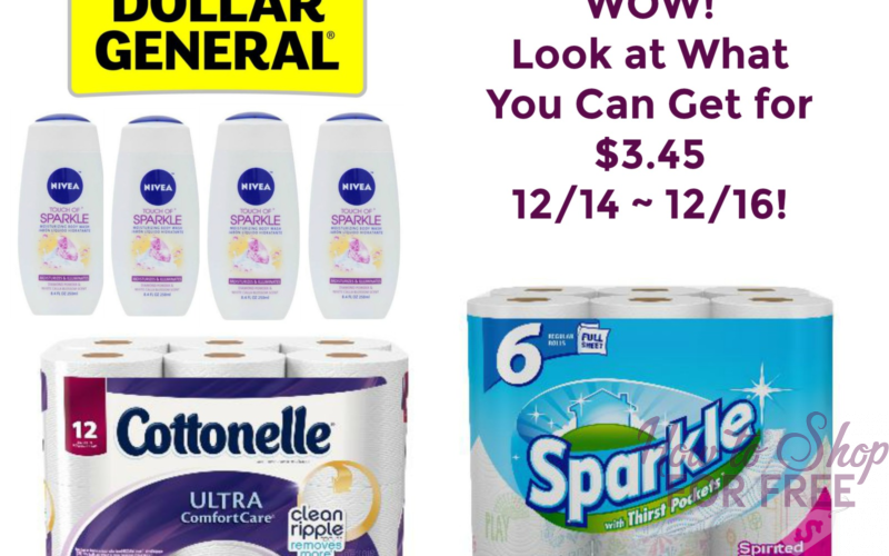 WOW! Look at What You Can Get for $3.45 at Dollar General 12/14 ~ 12/16!