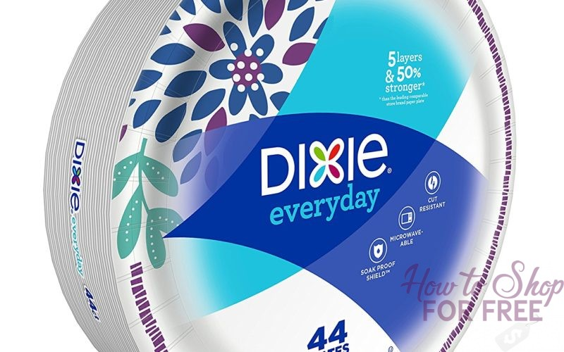 Dixie Plates ONLY 49¢ at Shaw's 12/08 ~ 12/14!
