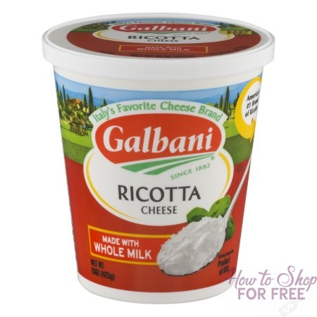 Galbani Ricotta or Grated Cheese ONLY 99¢ at Shaw's 12/08 ~ 12/14!