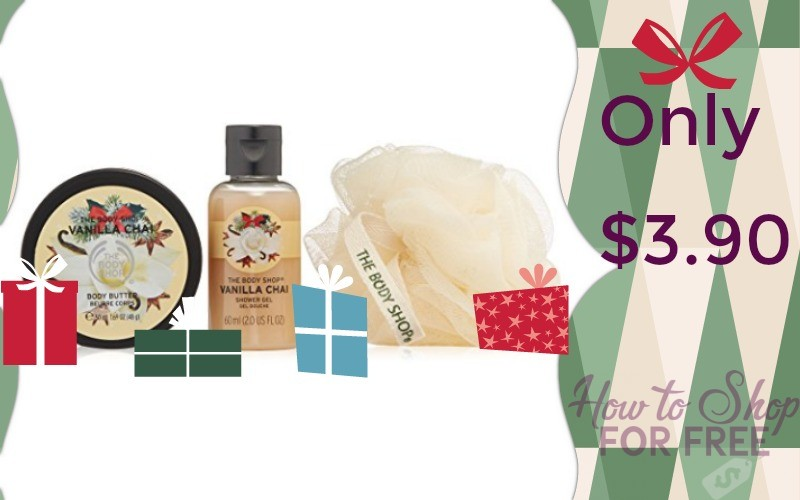 The Body Shop Gift Set Only $3.90!