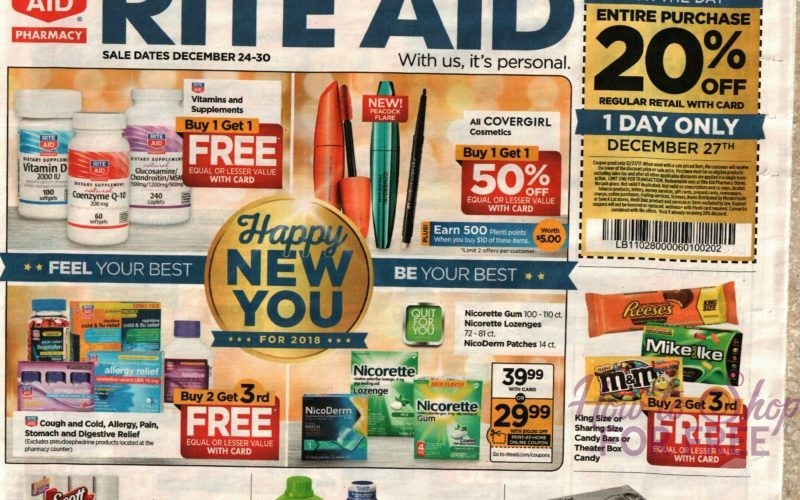 Rite Aid Early Ad Scan, 12/24-30! Do You Love Early Ads?!
