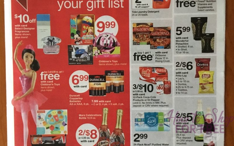 Super Early ad scan!  Walgreen's 12/24 – 12/30  Ad is up Already!