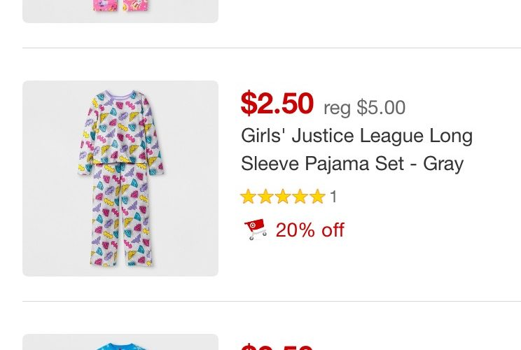 GLITCH! Kids Pajamas as low as $2.00!