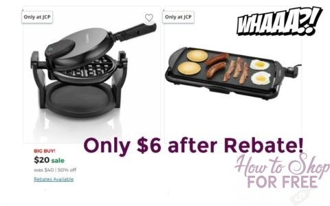 Exceptionnel Hurry Over To JCPenney Where They Are Offering Rebates Back On The Cooks  Kitchen Appliances. Choose FREE Store Pickup Or Get FREE Shipping On Orders  Of $49 ...