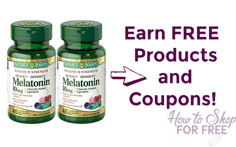Easily Earn FREE Nature's Bounty Products!