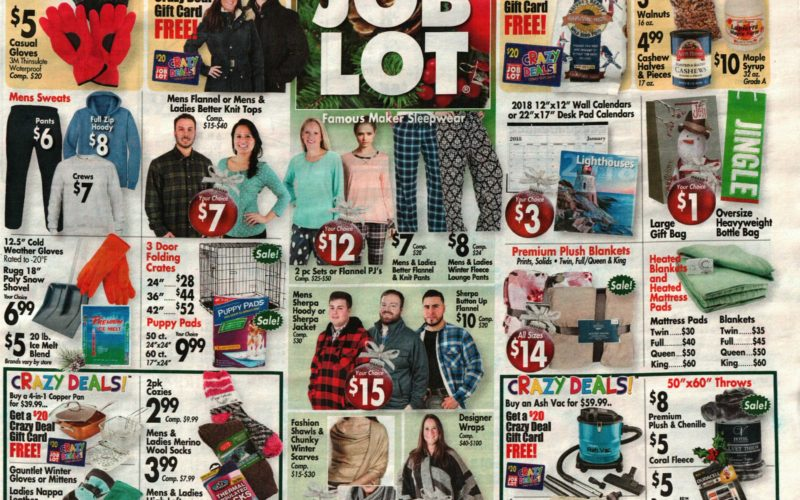 *NEW* Ocean State Job Lot Ad Scan~ 12/21-27