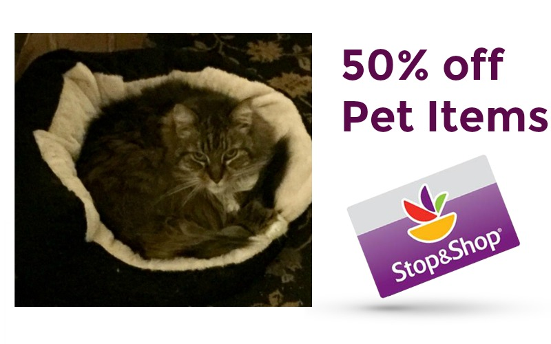 Clearance Find! Pet Beds 50% Off at Stop & Shop