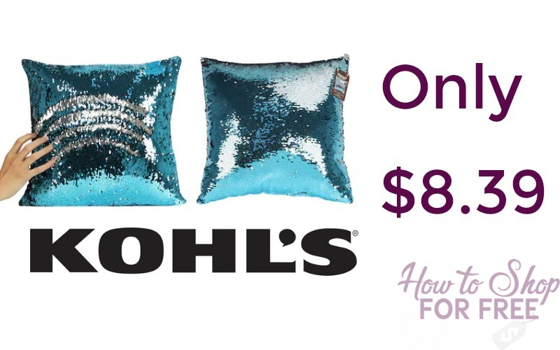 Mermaid Pillows Only $8.39 Shipped!