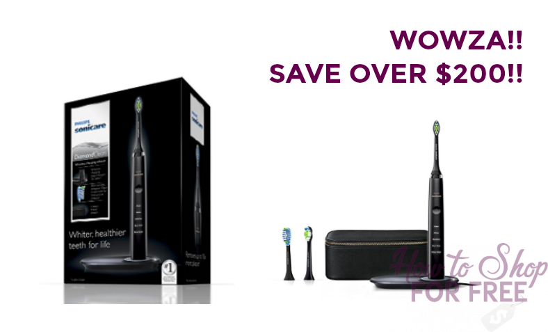 WOWZA!!! Philips Sonicare Toothbrush ONLY $32.50!!