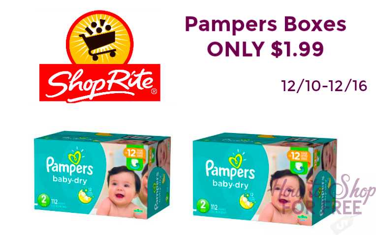 CRAZY DIAPER DEAL!!! Pampers SUPER Packs ONLY $1.99!!
