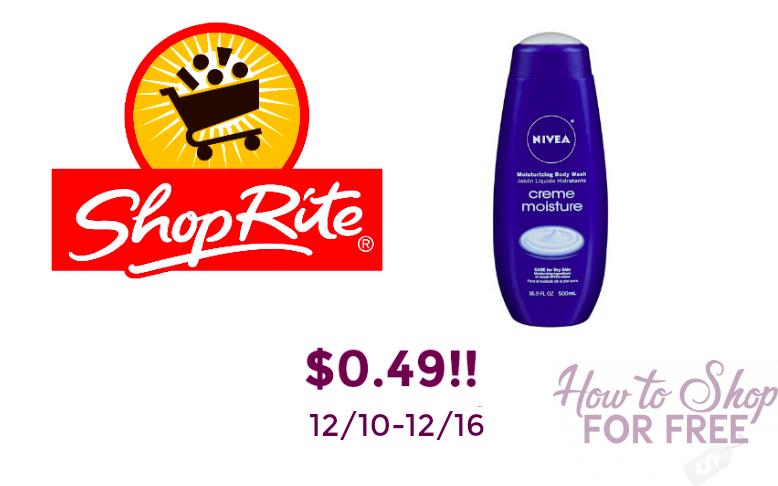 $0.49 Nivea Body Wash!!