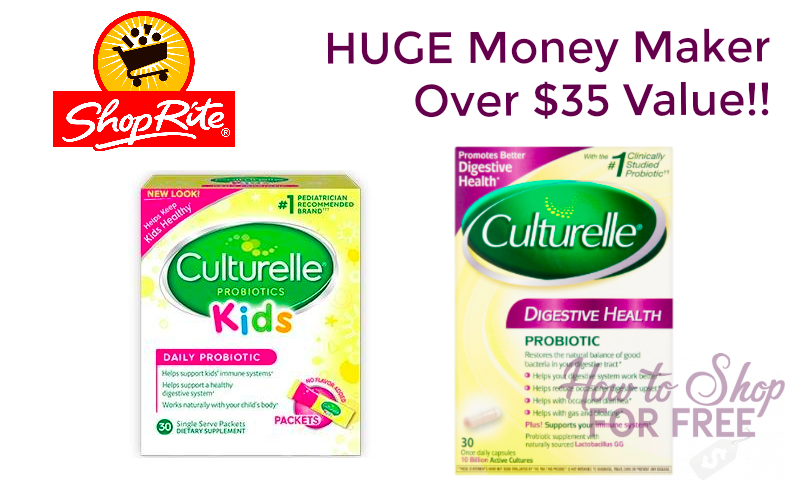 FREE + MM on Culturelle Products – $35 Value!!!