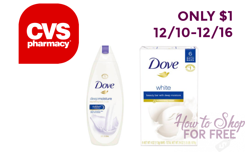 NO Coupons Needed: Dove Body Wash ONLY $1!