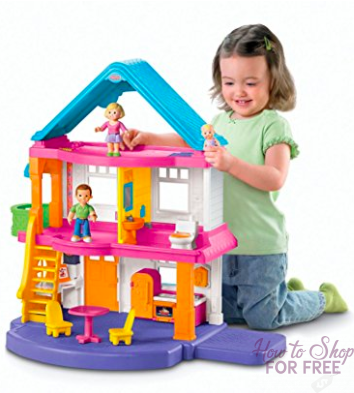 Fisher Price, My First Dollhouse ONLY $37.16 – Orig. $100!!