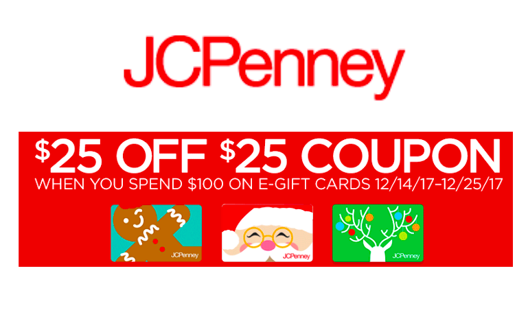 FREE $25 to JCPenney!!