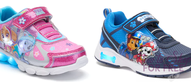 Toddler Light-up Shoes ONLY $6.98!