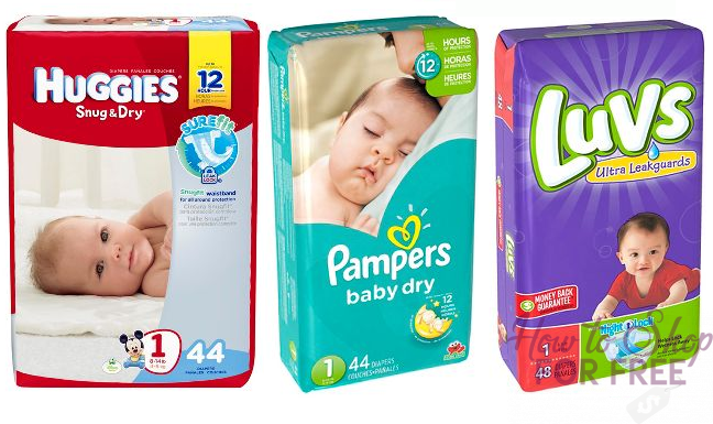 Jumbo Packs of Diapers ONLY $4.30 at Target!