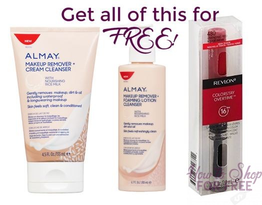 Almay/Revlon FREEBIE deal at CVS!