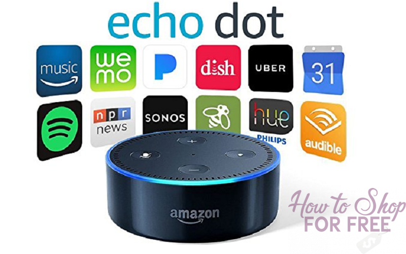 Amazon Echo Dot Onl $29.99 (Lowest Price)
